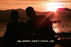Sunset Boo Island by Phuket Safari Travel