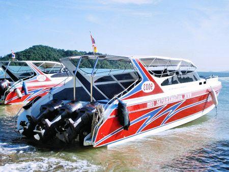 Krabi To Phi Phi Speedboat Tour